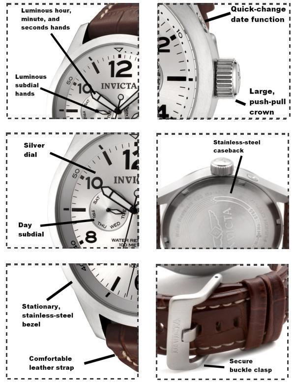Invicta 0765 Men's Watch