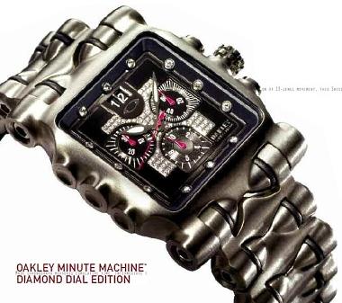 Minute Machine Diamond Dial