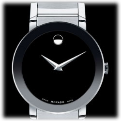 High Quality Featuring The Utterly Recognizable, Minimalist Look Of Movadou0027s Famed  Museum Watch, This Movado Sapphire Menu0027s Stainless Steel Watch Offers A  Contemporary ... Photo Gallery