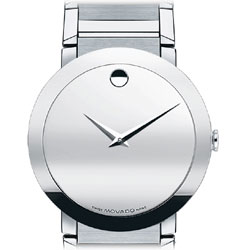 amazon com movado men s 606093 sapphire stainless steel bracelet product description