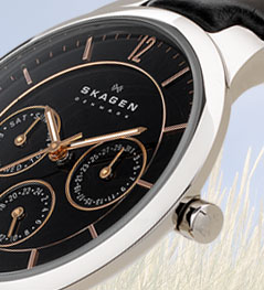 amazon com skagen men s skw6076 balder grey titanium link watch product description