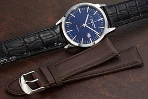 Stuhrling Men's Ascot II Grey Dial Strap Set Watch