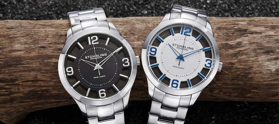 Stuhrling Men's Winchester Court Watch
