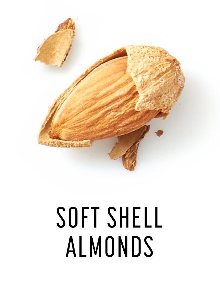 Soft Shell Almonds