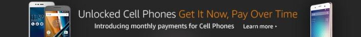 Introducing Monthly Payments for Cell Phones