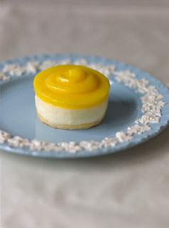 Baby Lemon Cheesecakes