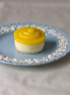 Baby Lemon Cheesecakes, Whipped Cream Cake