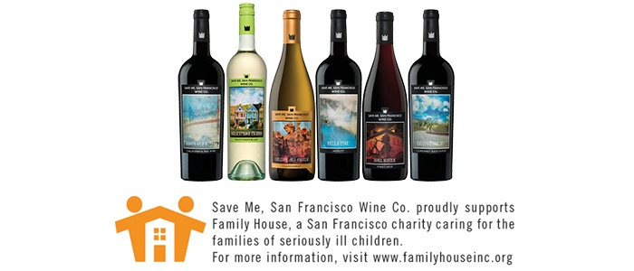 Save Me San Francisco Rockin' with a Cause Deluxe Mixed Pack, 6 x 750