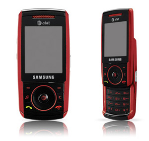 amazon com samsung a737 red phone at t cell phones accessories rh amazon com