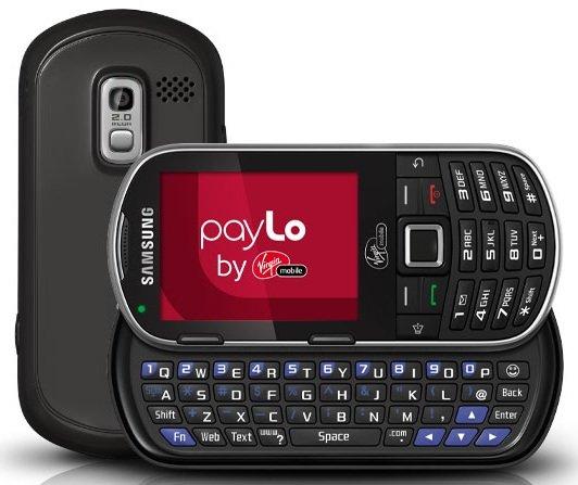 New Sealed in Box LG LG101 Black Virgin mobile Talk