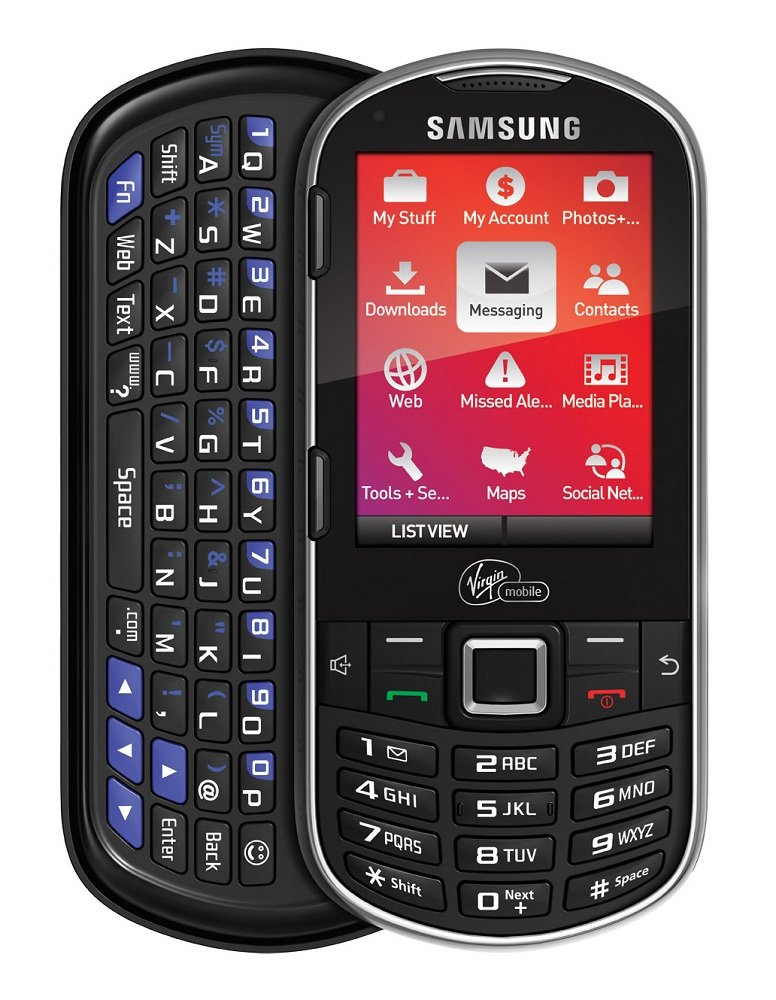 samsung m575 prepaid phone paylo by virgin mobile cell phones accessories. Black Bedroom Furniture Sets. Home Design Ideas