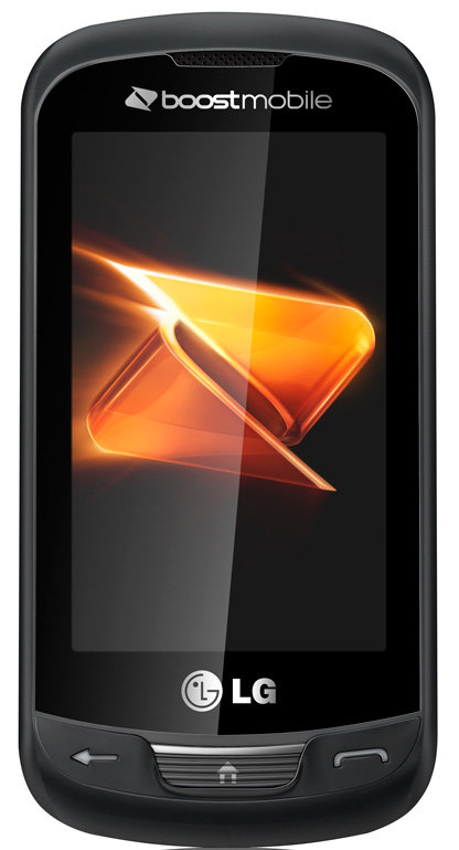 amazon com  lg rumor reflex phone  boost mobile   cell