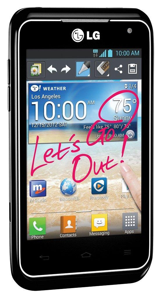 Amazon.com: ZTE Avid 4G Prepaid Android Phone (MetroPCS): Cell Phones ...