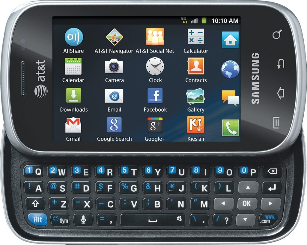 samsung galaxy appeal i827 at t gsm android. Black Bedroom Furniture Sets. Home Design Ideas