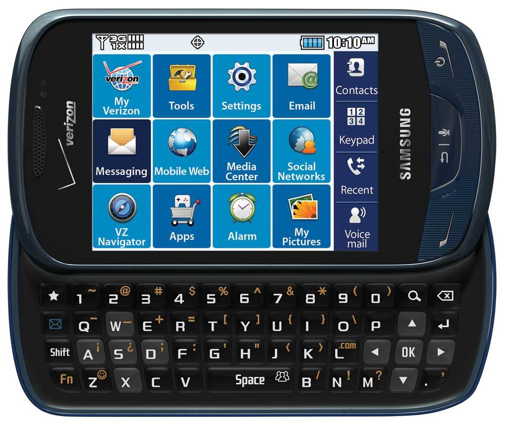 Amazon.com: Samsung Brightside, Sapphire Blue (Verizon ...
