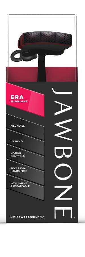 Amazon Jawbone Era Headset Midnight Retail Packaging