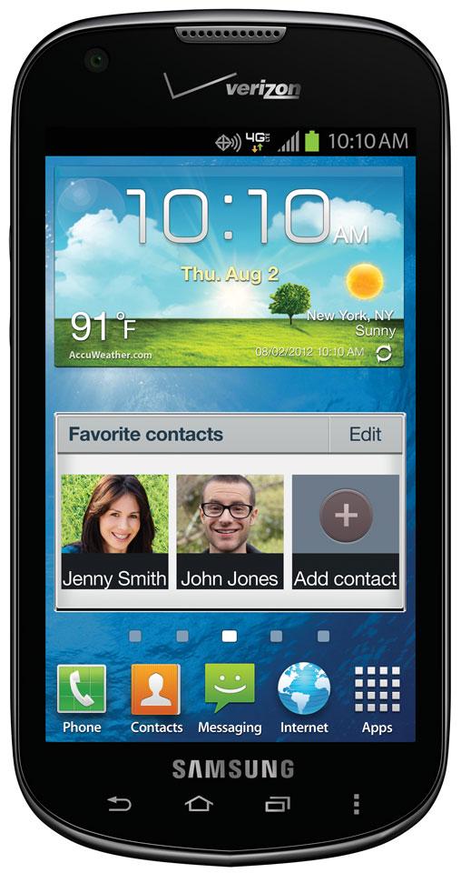 Verizon Samsung Touch Screen Phones