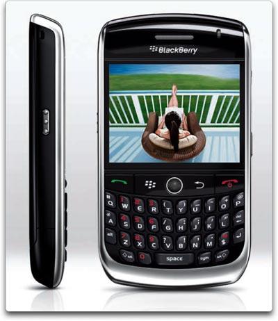 gps navigator blackberry curve