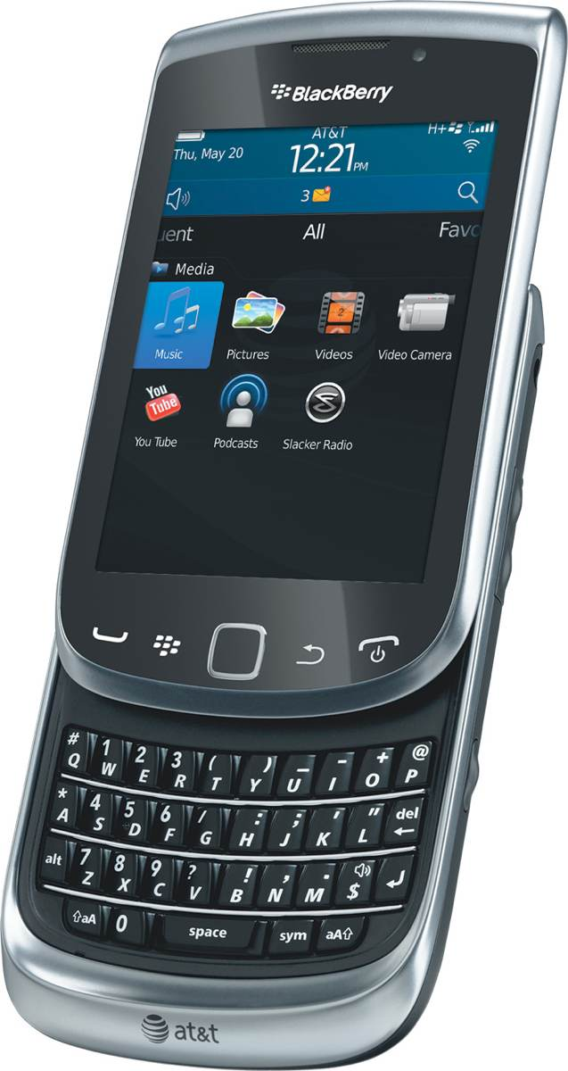 Amazon.com: BlackBerry Torch 4G 9810 Phone (AT&T): Cell