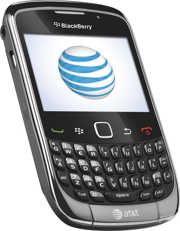 blackberry curve 9300 phone grey at t cell phones accessories. Black Bedroom Furniture Sets. Home Design Ideas