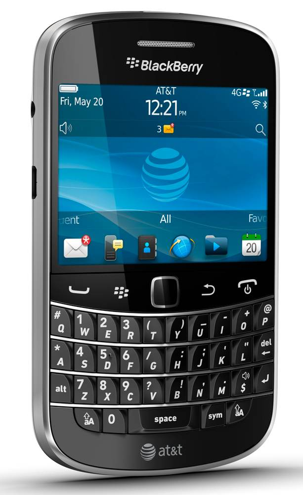 Amazon blackberry bold 9900 phone att cell phones accessories the blackberry bold 9900 with 28 inch touchscreen and full qwerty keyboard view larger reheart Choice Image