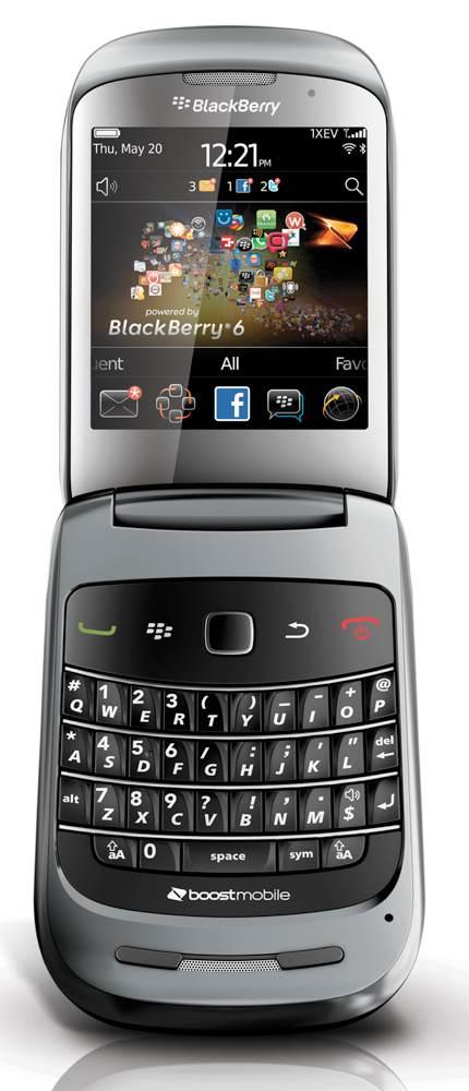 Amazon Com Blackberry Style 9670 Prepaid Phone Boost