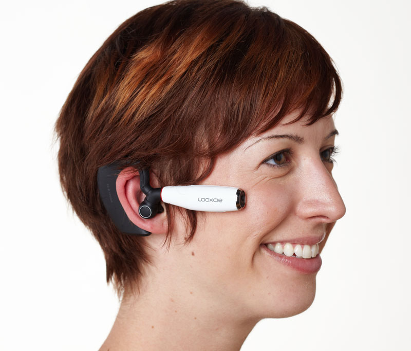 Amazon.com: Looxcie Wearable Bluetooth Camcorder System, Android ...
