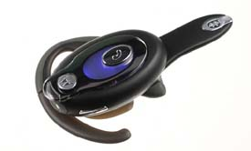motorola n136. two softly pulsating blue leds signal when the headset is in use. motorola n136
