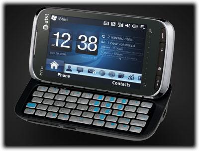 Amazon Com Htc Tilt Black At T Cell Phones Accessories