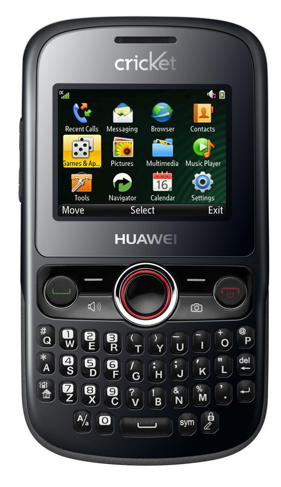 Huawei Pillar - Black (Cricket PayGo) Prepaid No Contract ...  Huawei Pillar -...