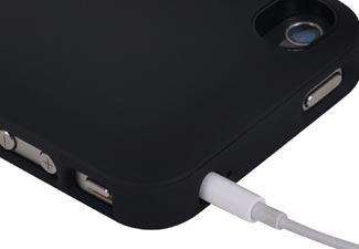 iPhone 4 4S offGRID Backup Battery Case - Buttons Ports Access