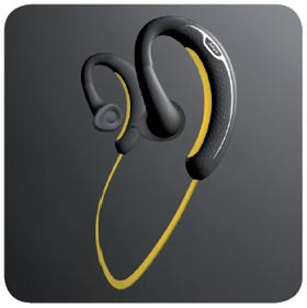 jabra sport bluetooth stereo headset black yellow discontinued. Black Bedroom Furniture Sets. Home Design Ideas