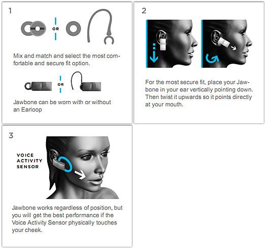 Jawbone icon инструкция