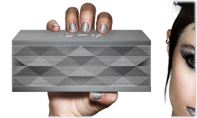 Amazon Jawbone Jambox Wireless Bluetooth Speaker Grey Hex