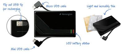 Kensington K38056US Pocket Battery for SmartPhones