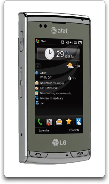 amazon com lg incite ct810 phone silver at t cell phones rh amazon com LG Ignite Phone Cover LG Incite Drivers