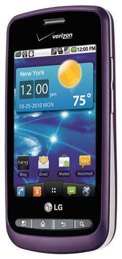 amazon com lg vortex android phone purple verizon wireless cell rh amazon com Verizon LG Cell Phone Manual Verizon LG Phone Manual VX4500