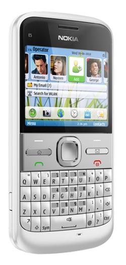 Amazon Com Nokia E5 00 Unlocked Gsm Phone With Easy Email