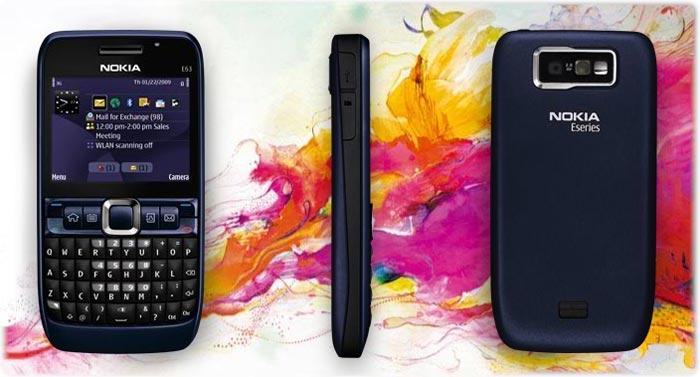 Nokia E63 Blue Nokia E63-2 Unl...