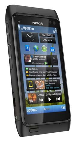 Amazon.com: Nokia N8 Unlocked GSM Touchscreen Phone ...