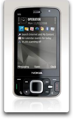 Amazon Com Nokia N96 16 Gb Unlocked Phone With 5 Mp