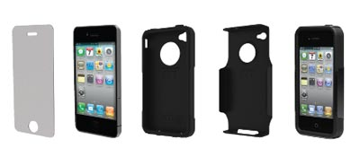 on sale bed36 b3ff7 Amazon.com: OtterBox Universal Commuter Case for iPhone 4 (Black ...