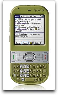 amazon com palm centro phone green sprint cell phones accessories rh amazon com Palm Centro Freeware Palm Centro Ad