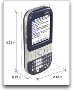amazon com palm centro phone dark blue verizon wireless cell rh amazon com Sprint Palm Centro Charger Palm Smartphone