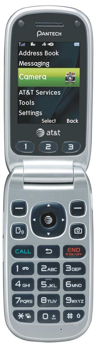 pantech breeze 3 flip cell phone at t locked no contract new rh ebay com AT&T Pantech Flip Phone Manual pantech cell phone owner's manual
