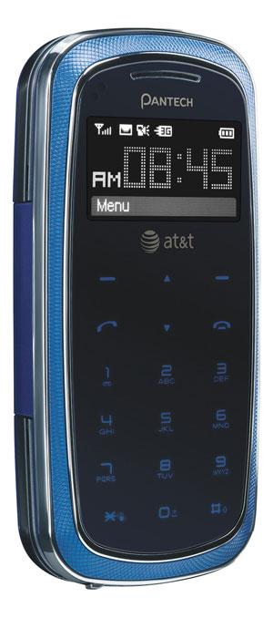 Amazoncom Pantech Impact P7000 Phone Blue Att Cell Phones