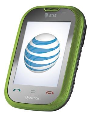 Amazoncom Pantech Pursuit Phone Green Att Cell Phones