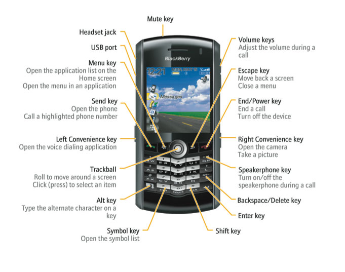 amazon com blackberry pearl 8100c phone slate grey at t cell rh amazon com BlackBerry Curve Repair Manual BlackBerry User Guide