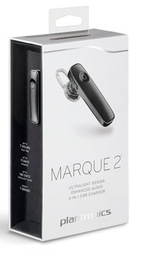 plantronics marque2 pkg blk sm - Plantronics 88120-41 M165 Marque 2 Ultralight Wireless Bluetooth Headset - Compatible with iPhone, Android, and Other Leading Smartphones - Black