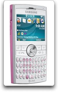 Amazon.com: Samsung BlackJack II Phone, Pink (AT&T): Cell